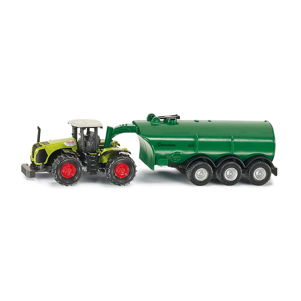 Blechspielzeug Realistisch Siku Super 1:87 New Holland Traktor Mit Feldspritze Spielzeug