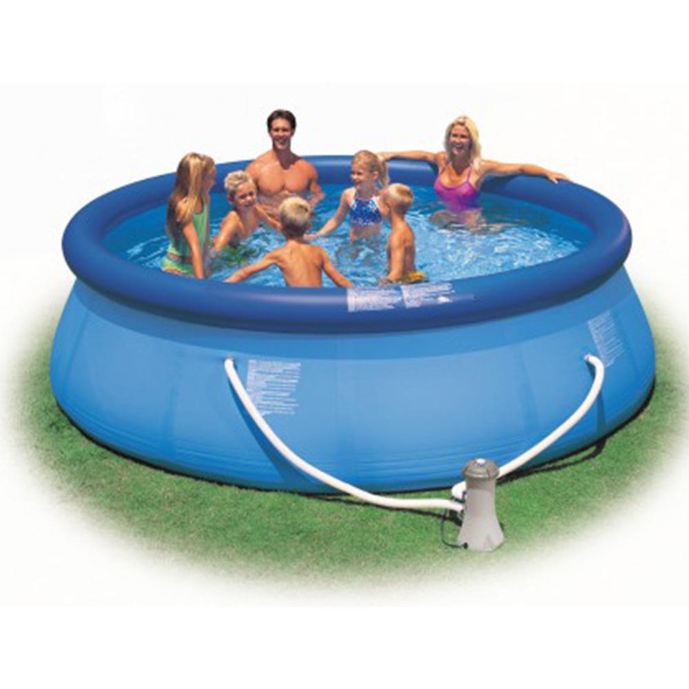 Intex Easy Set Pool Mit Pumpe Versch Größen Top In