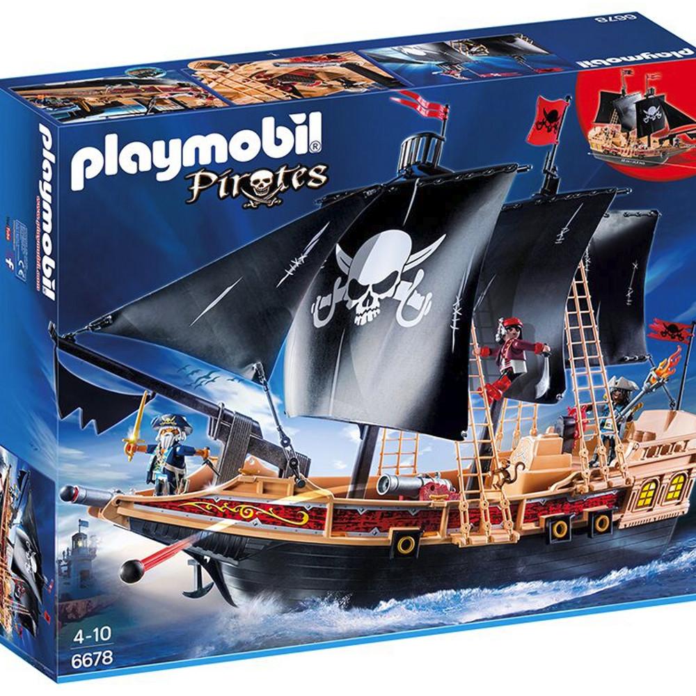 Piraten-Kampfschiff