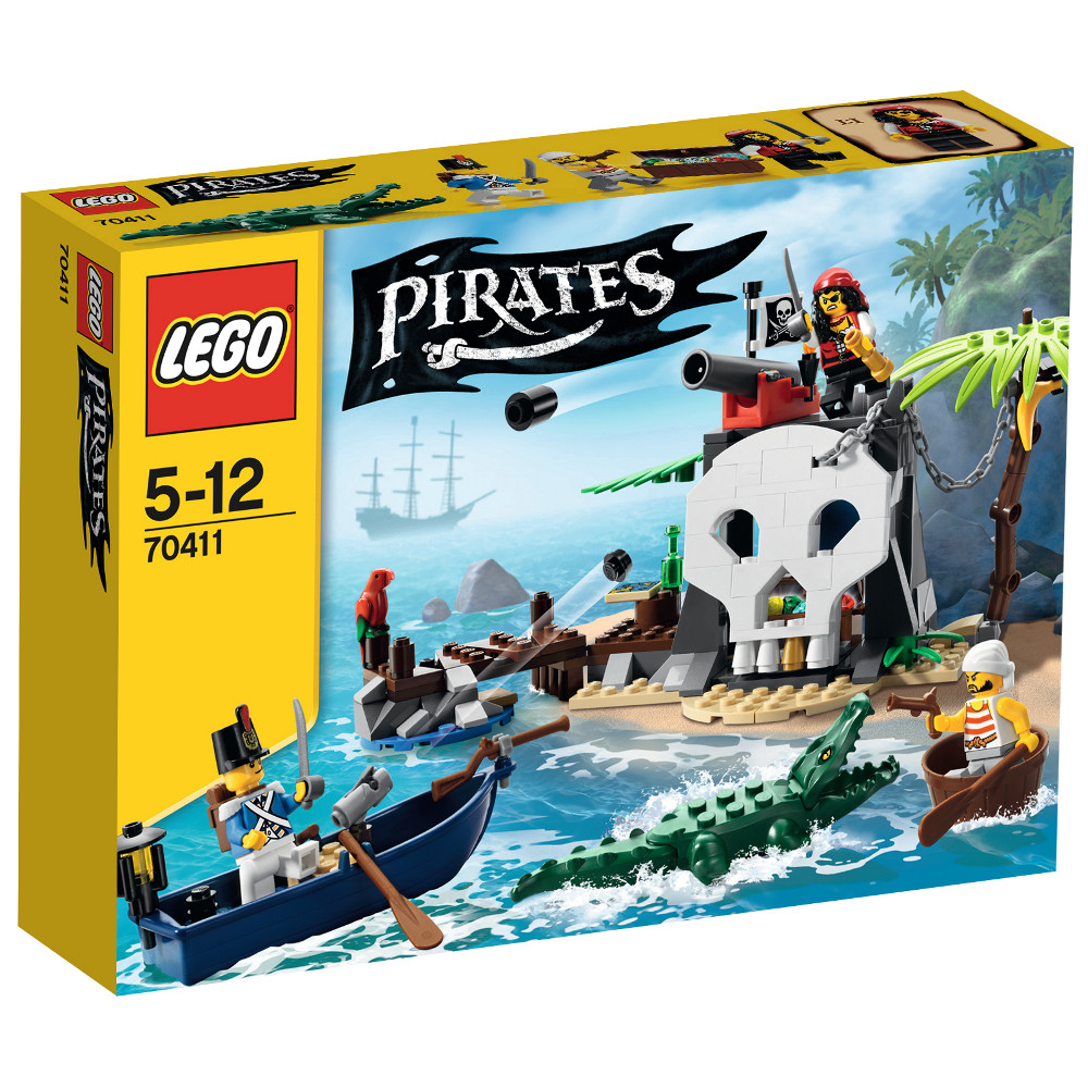 Piraten-Schatzinsel