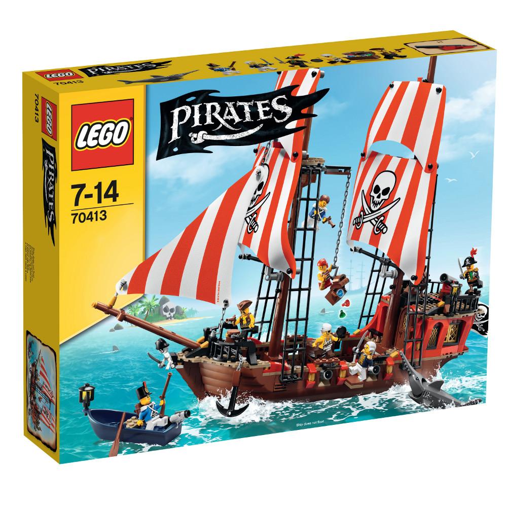 Großes Piratenschiff
