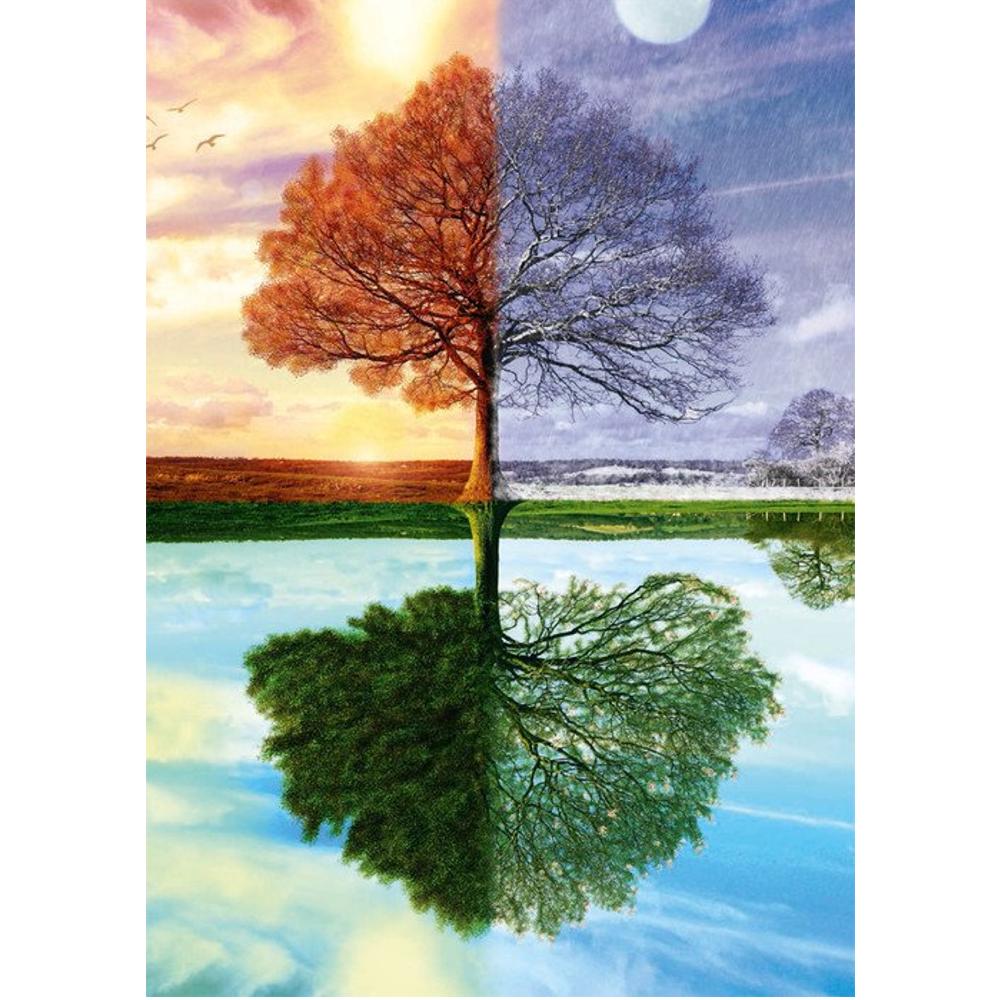Der Jahreszeiten-Baum