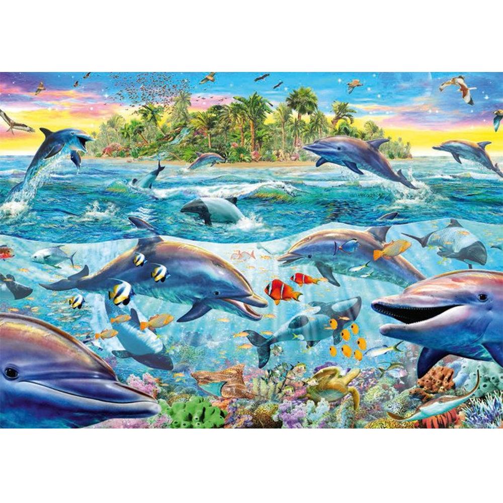 Riff der Delfine