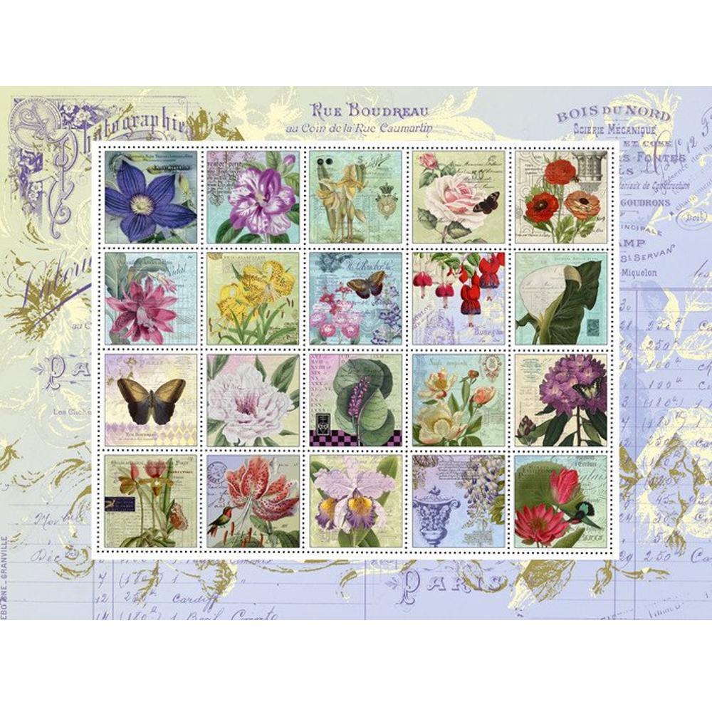 Nostalgie-Briefmarken