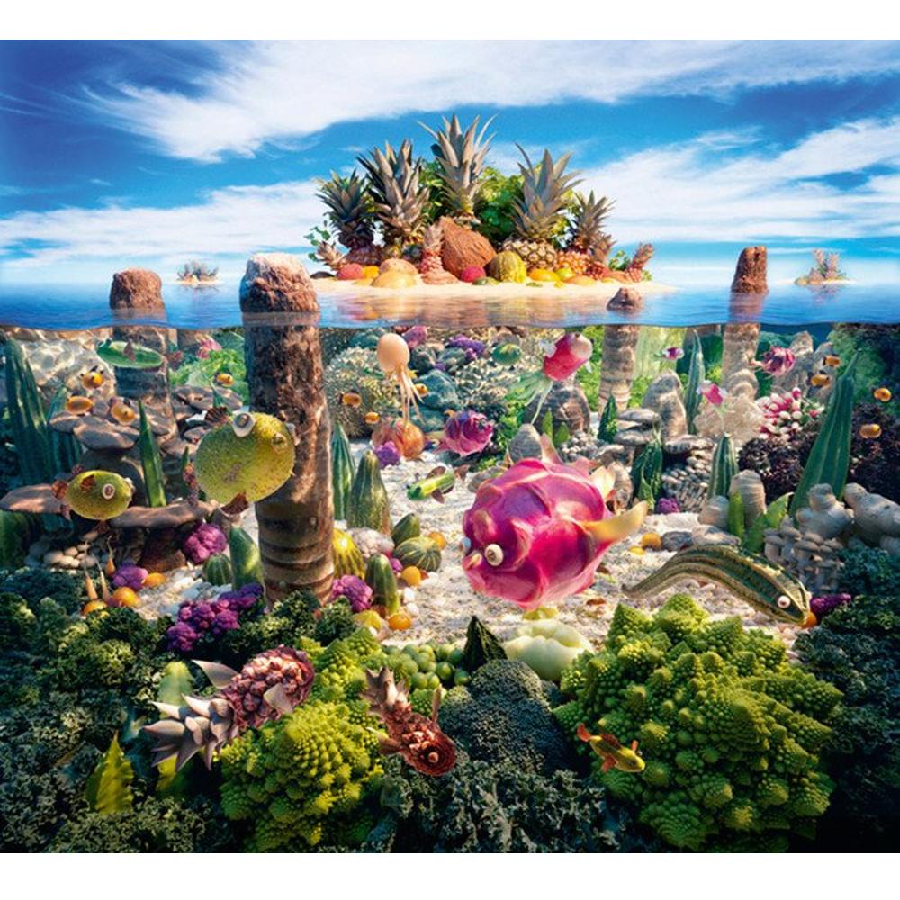 Südsee-Eiland, kulinarische Landschaften