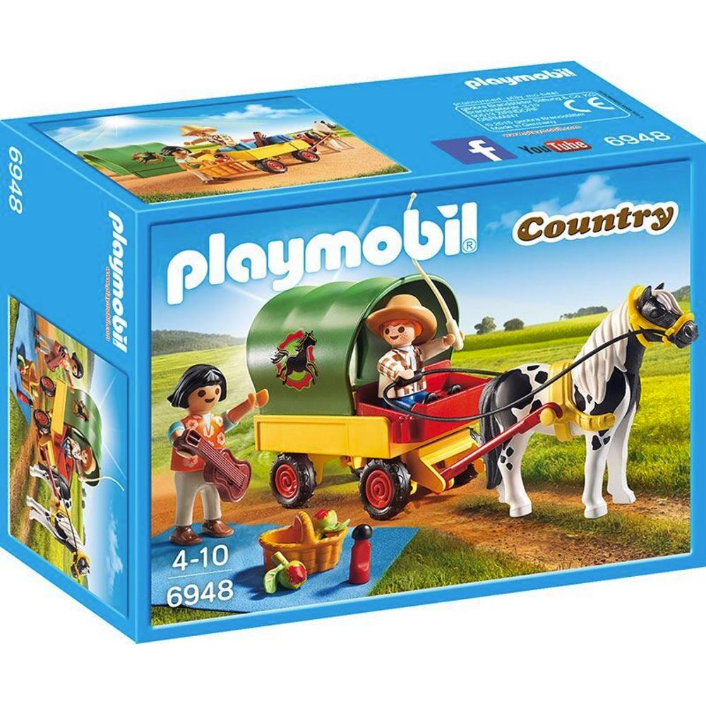 Ausflug mit Ponywagen