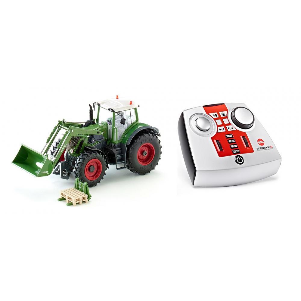 Baufahrzeuge & Traktoren Blechspielzeug Realistisch Siku Control 1:32 Fendt 939 Vario Mit Frontlader