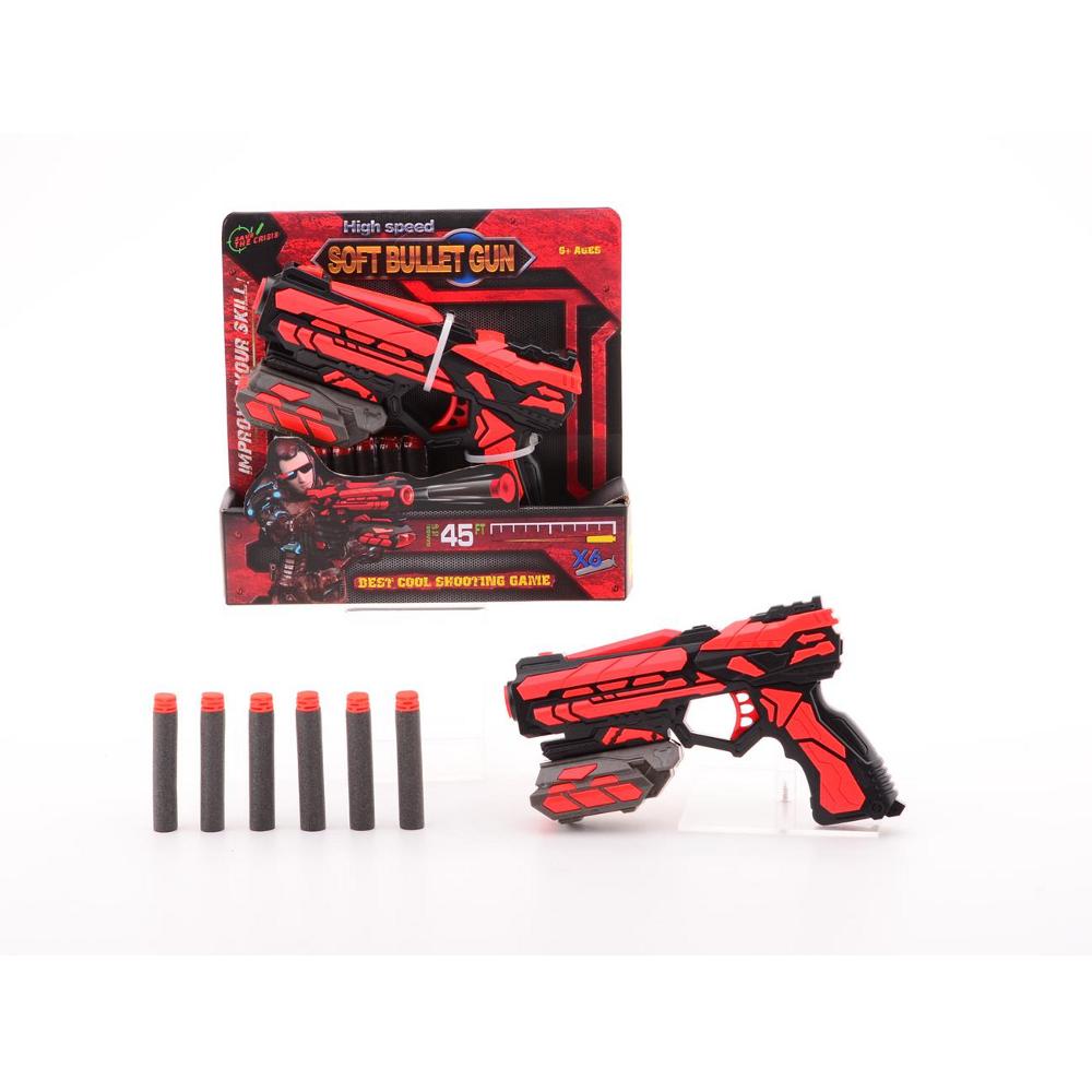 High Speed Soft Bullet Gun Starter 18cm