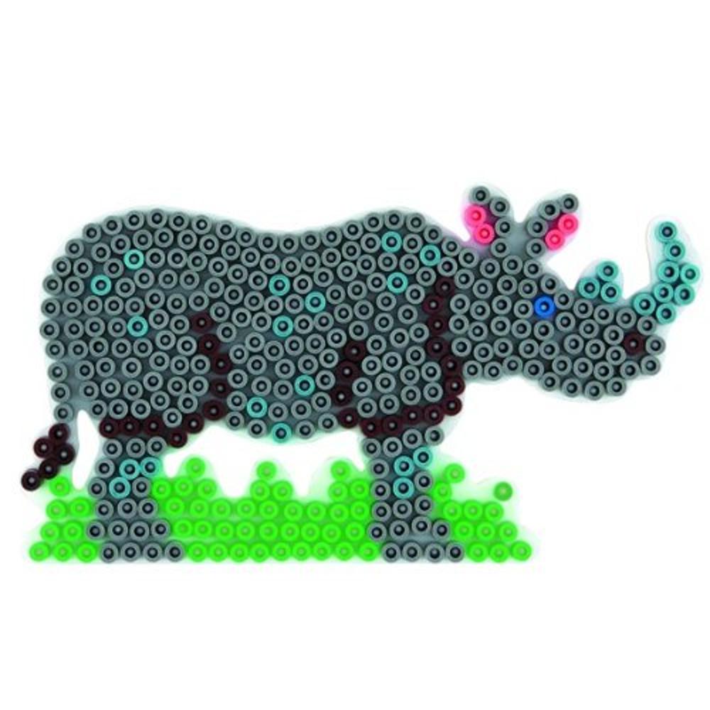 Stiftplatte Nashorn