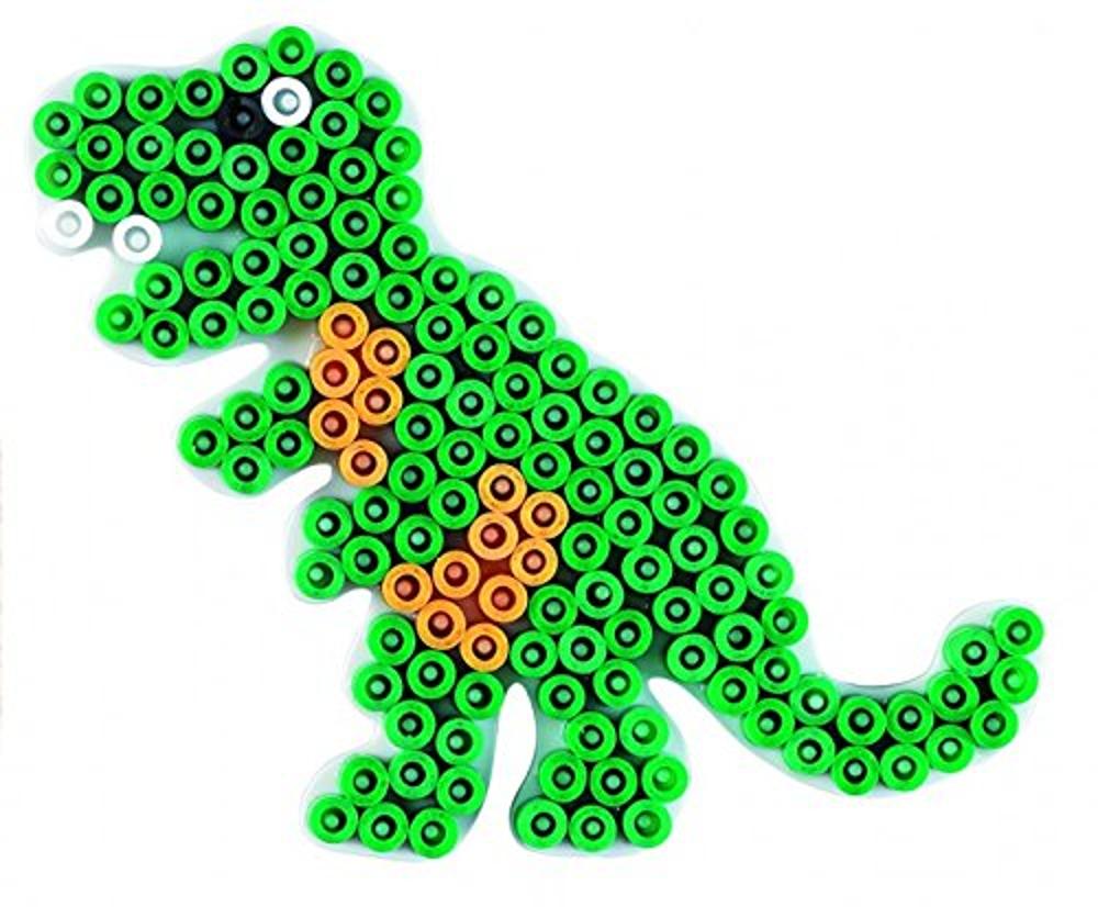 Stiftplatte Dino weiß