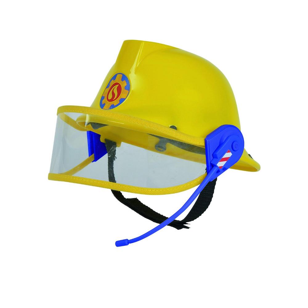 Feuerwehrmann Sam Helm in gelb 23cm