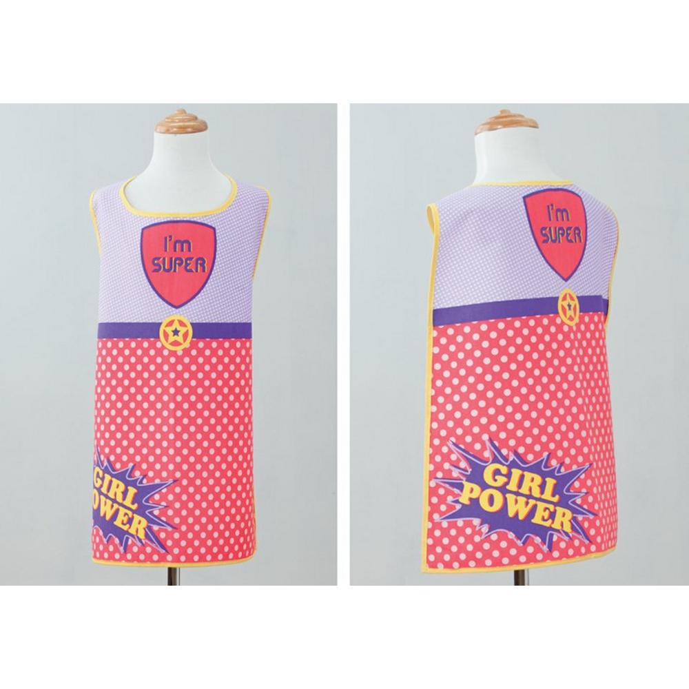 Umhang + Schürze Super Girl