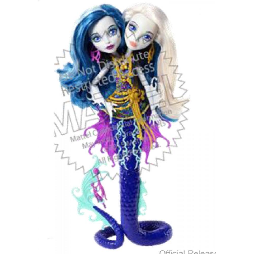 Monster High Große Schreckensriff - Peri & Pearl