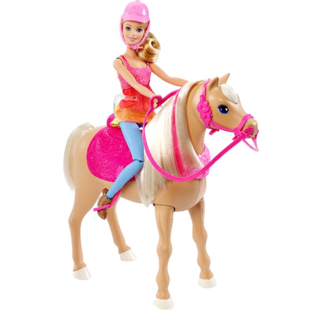 Barbie Hundesuche - Tanzspaß Pferd & Puppe