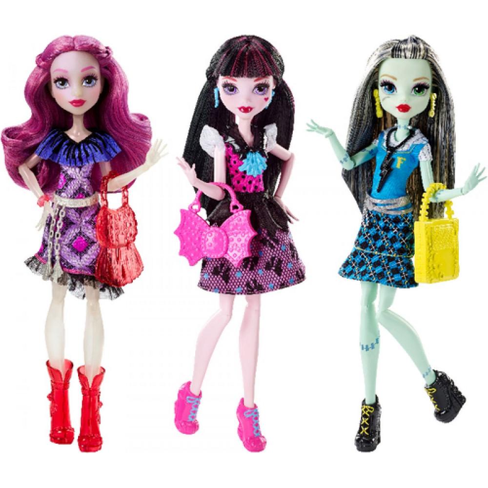 Monster High Todschicke Monsterschülerinnen sortiert