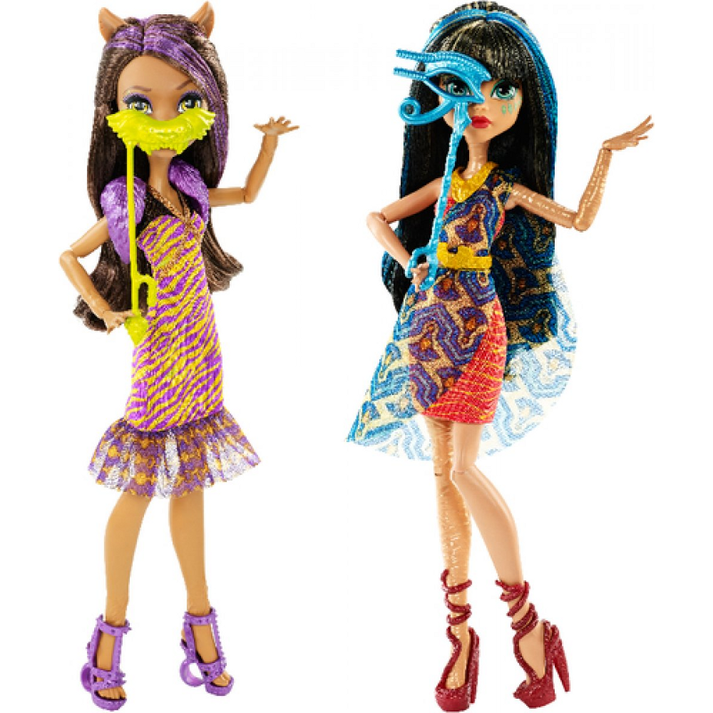 Monster High Willkommen Puppen sortiert