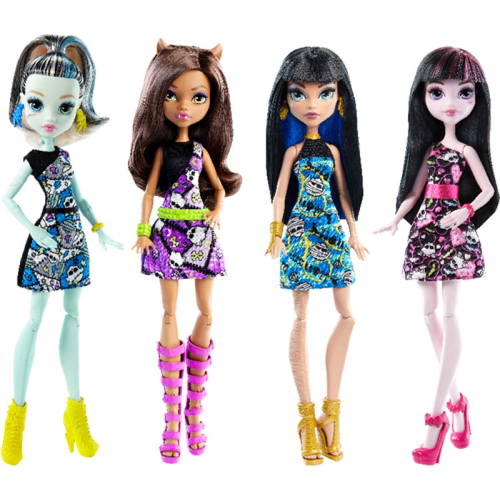 Monster High Puppen Rollierendes Sortiment