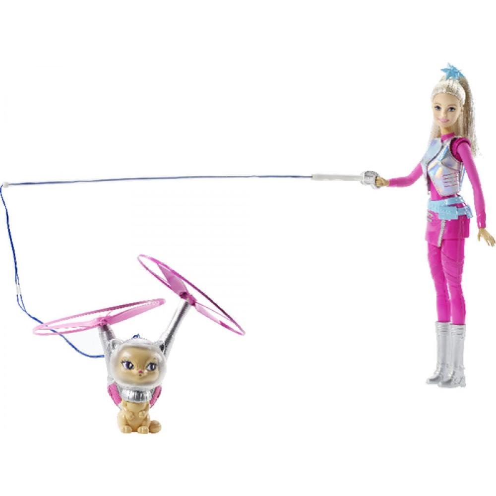 Barbie Sternenlicht Puppe & fliegende Katze