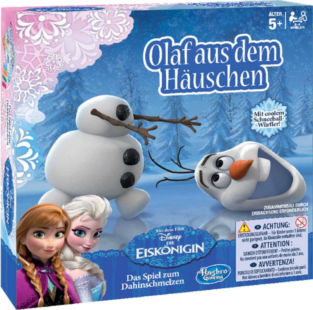Disney FROZEN - Die Eiskönigin - Olaf aus dem Häuschen
