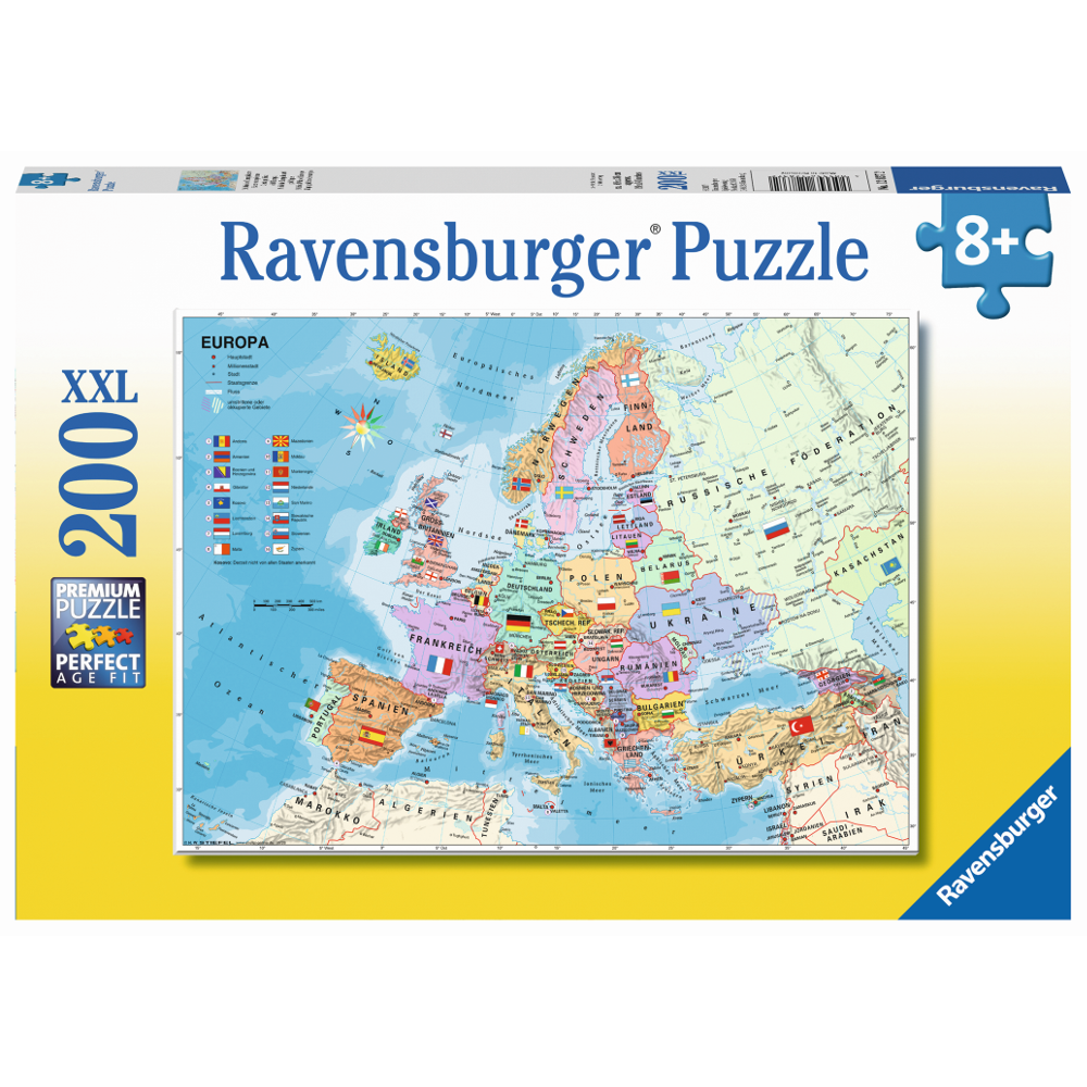 Politische Europakarte