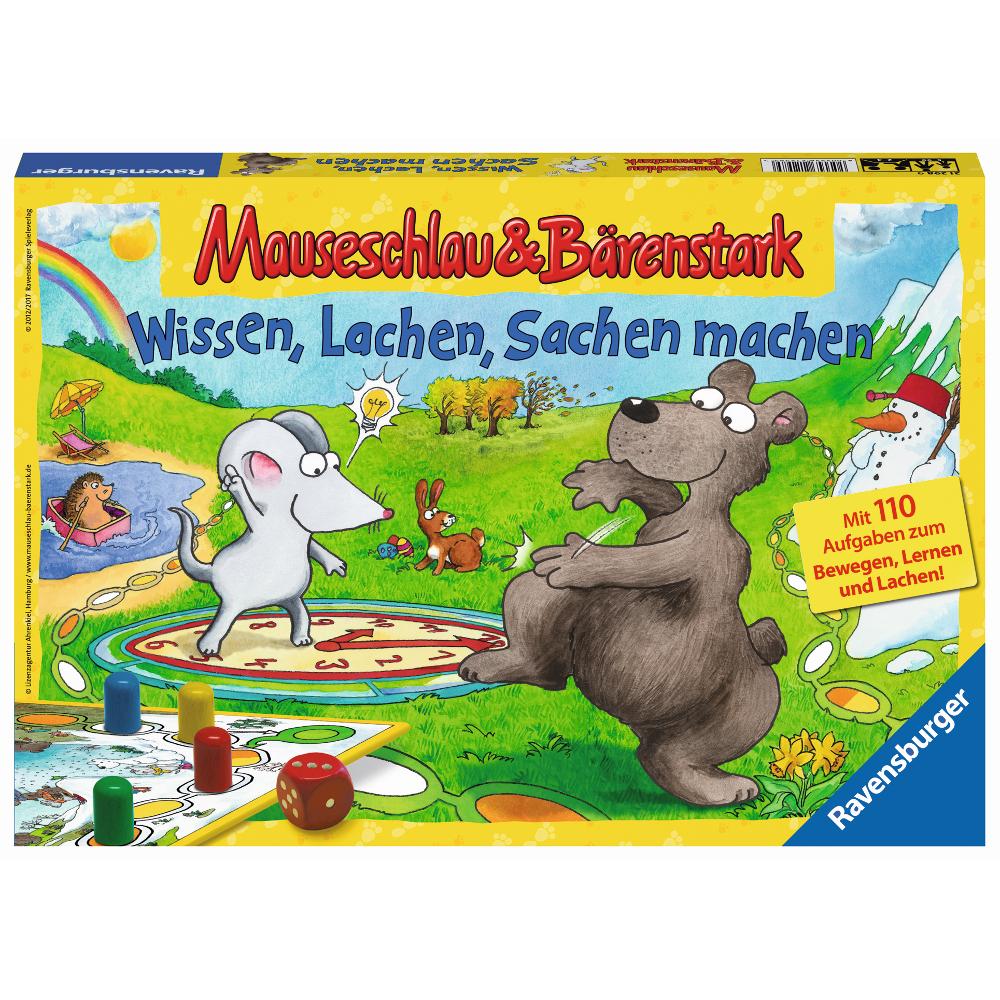 Mauseschlau & Bärenstark Wissen, Lachen, Sachen machen