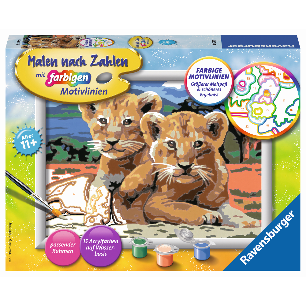 Kleine Löwenbabys