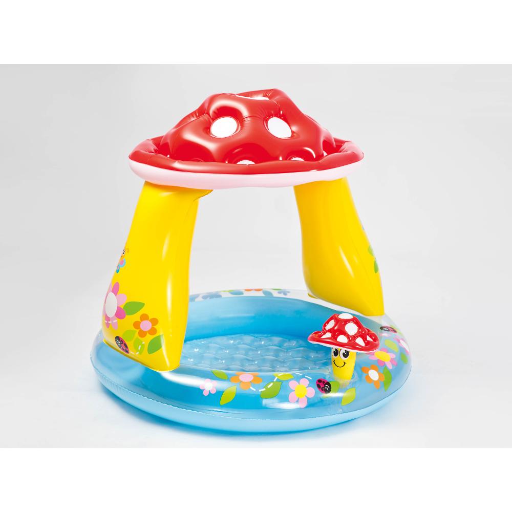 """Baby Pool """"Mushroom"""" mit Sonnenschutz"""