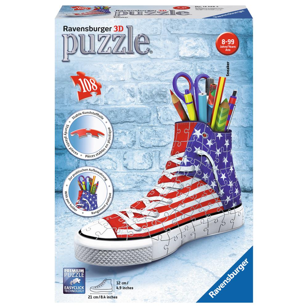 3D-Puzzle Sneaker