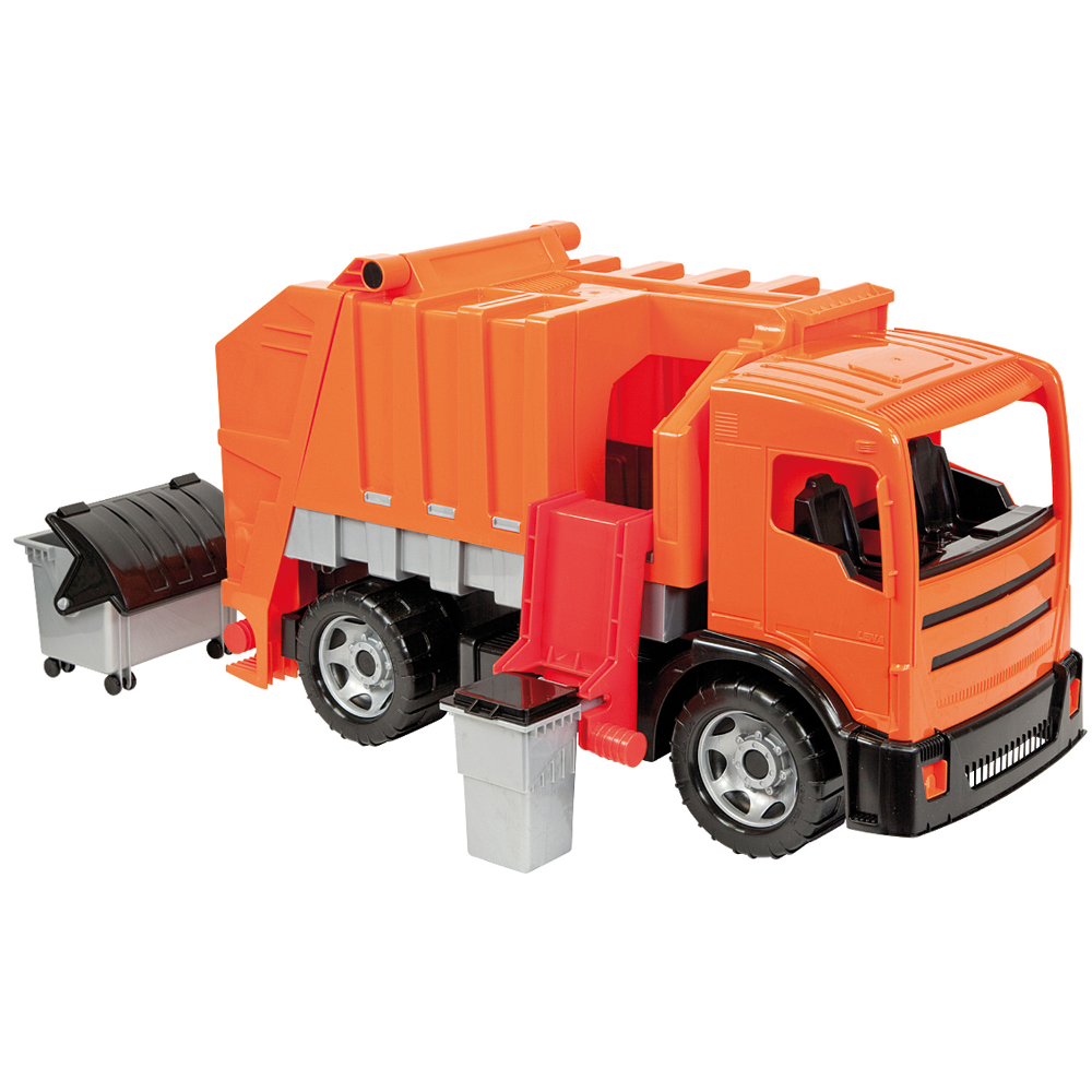Starke Riesen Müllwagen