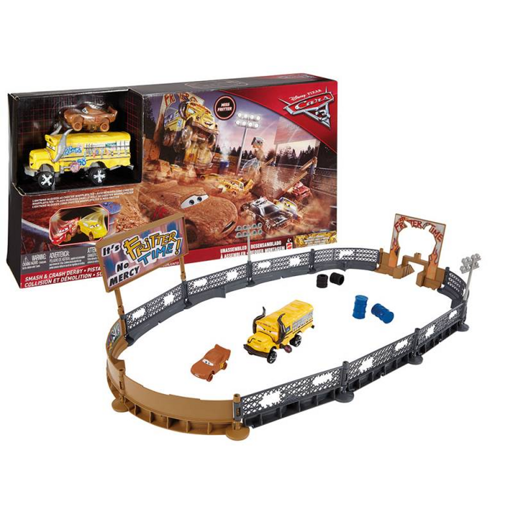 Cars 3 Fire Barrel Blast Playset