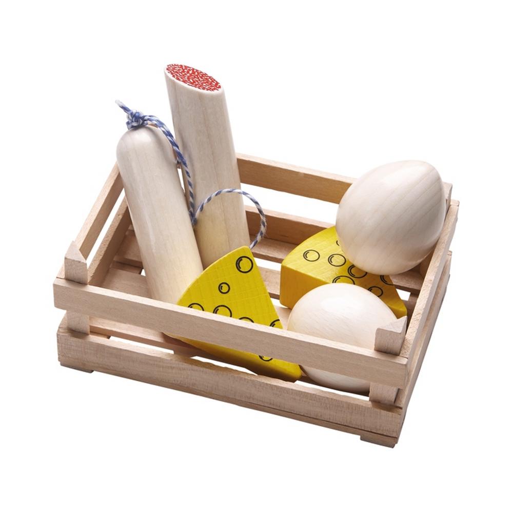 Kaufladen-Set Wurst und Käse