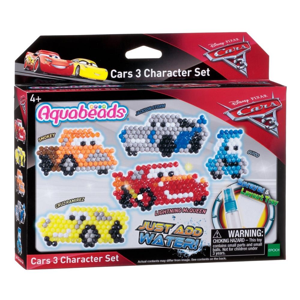 30218 Cars 3 Aquabeads Figurenset 580 Stück