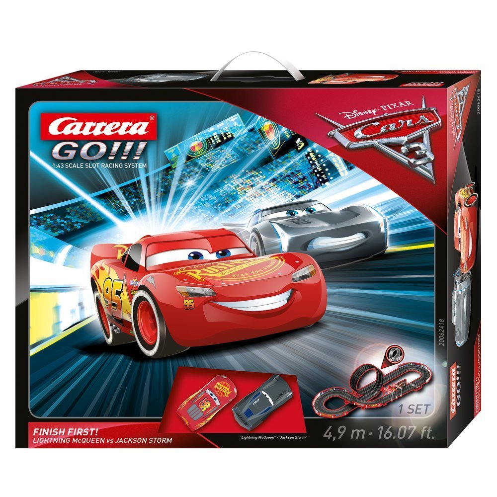 Go!!! Disney/Pixar Cars 3 Finish First!