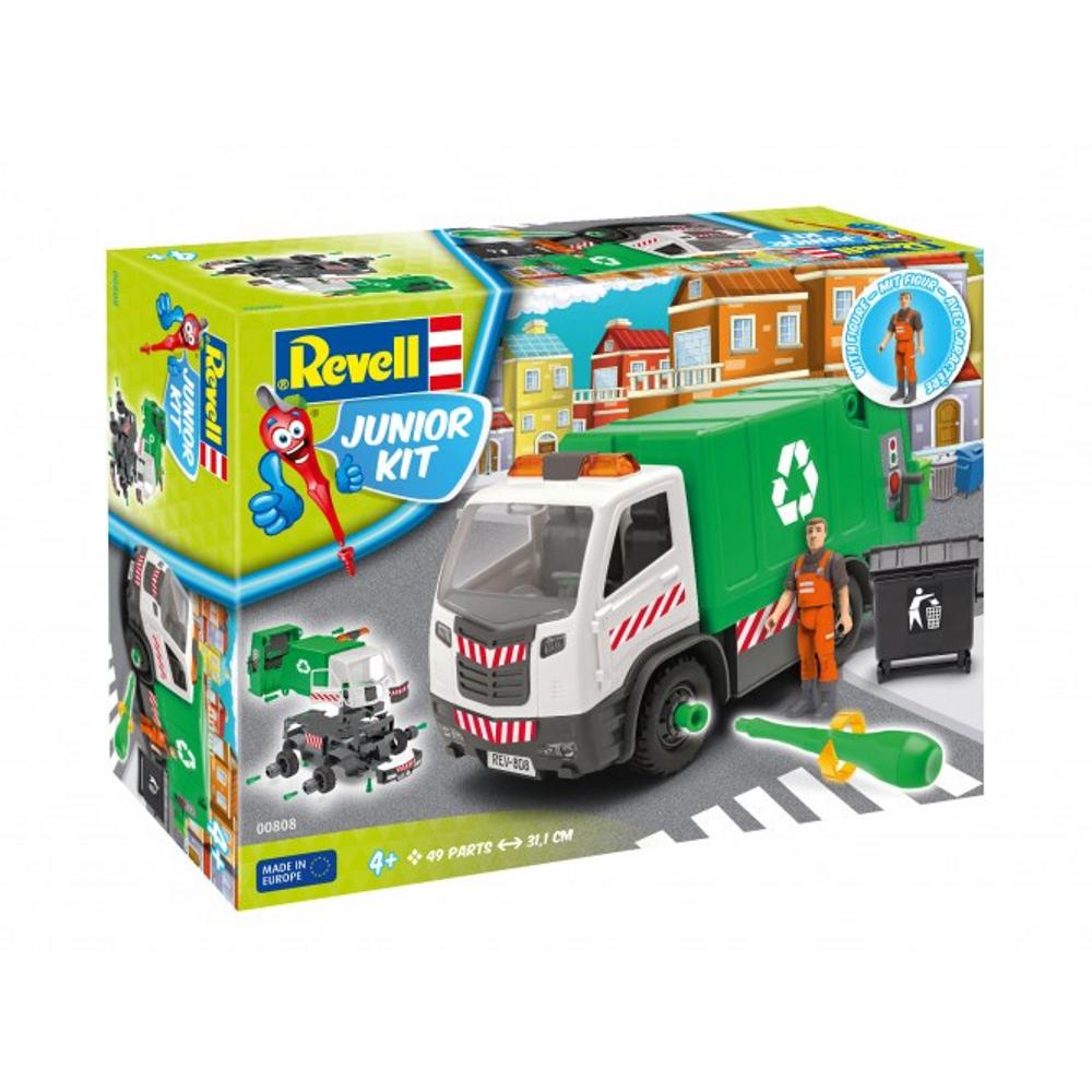 Garbage Truck 00808