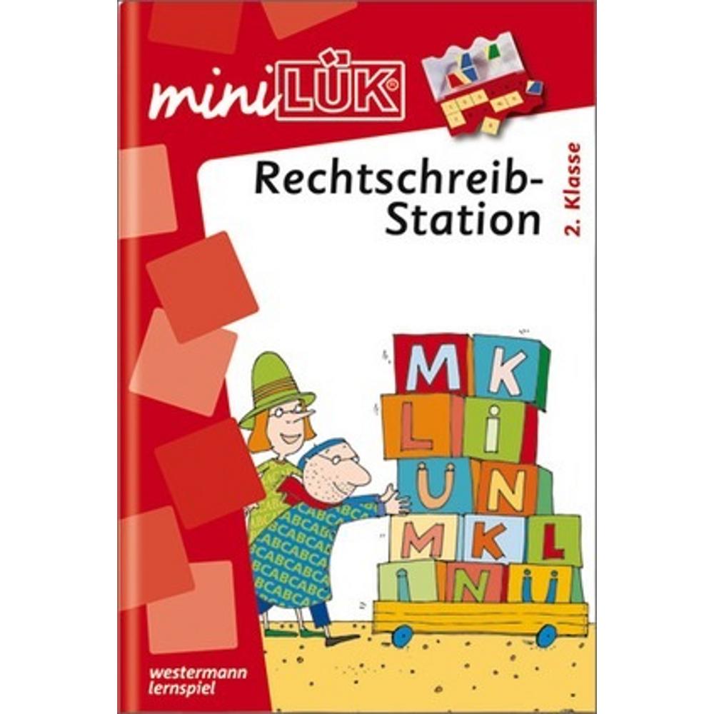 miniLÜK  Rechtschreibstation 2. Klasse