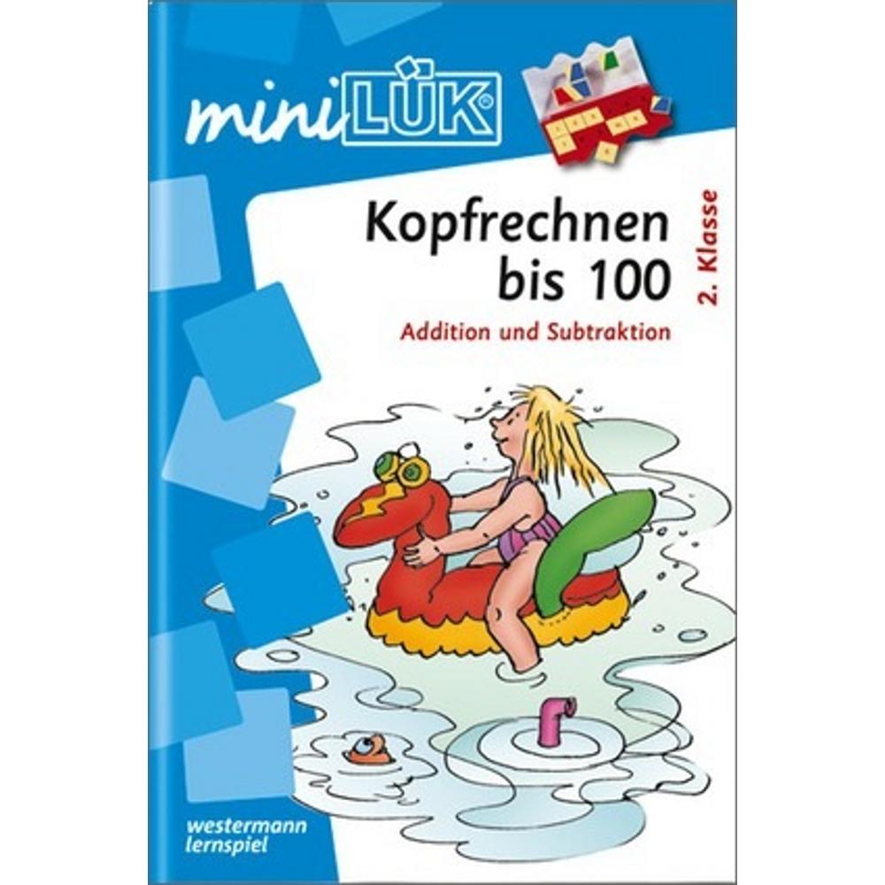 miniLÜK  Kopfrechnen 100 Addition und Subtraktion ab Klasse 2