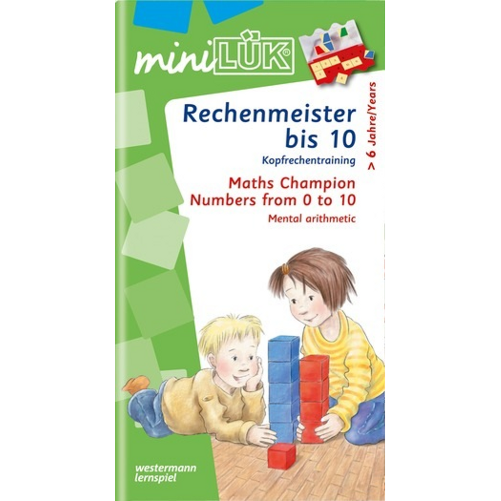 miniLÜK  Rechenmeister bis 10 Kopfrechentraining ab Klasse 1