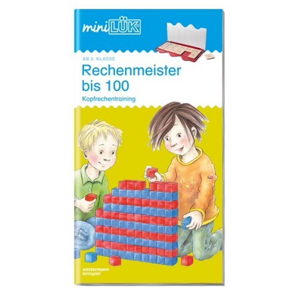 miniLÜK  Rechenmeister bis 100 Kopfrechentraining ab Klasse 2