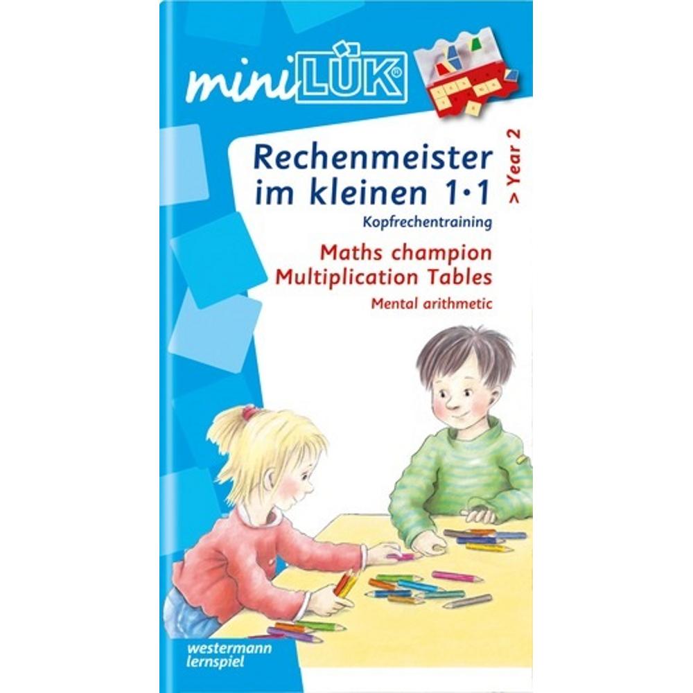 miniLÜK  Rechenmeister im kleinen 1x1 Kopfrechentraining ab Klasse 2