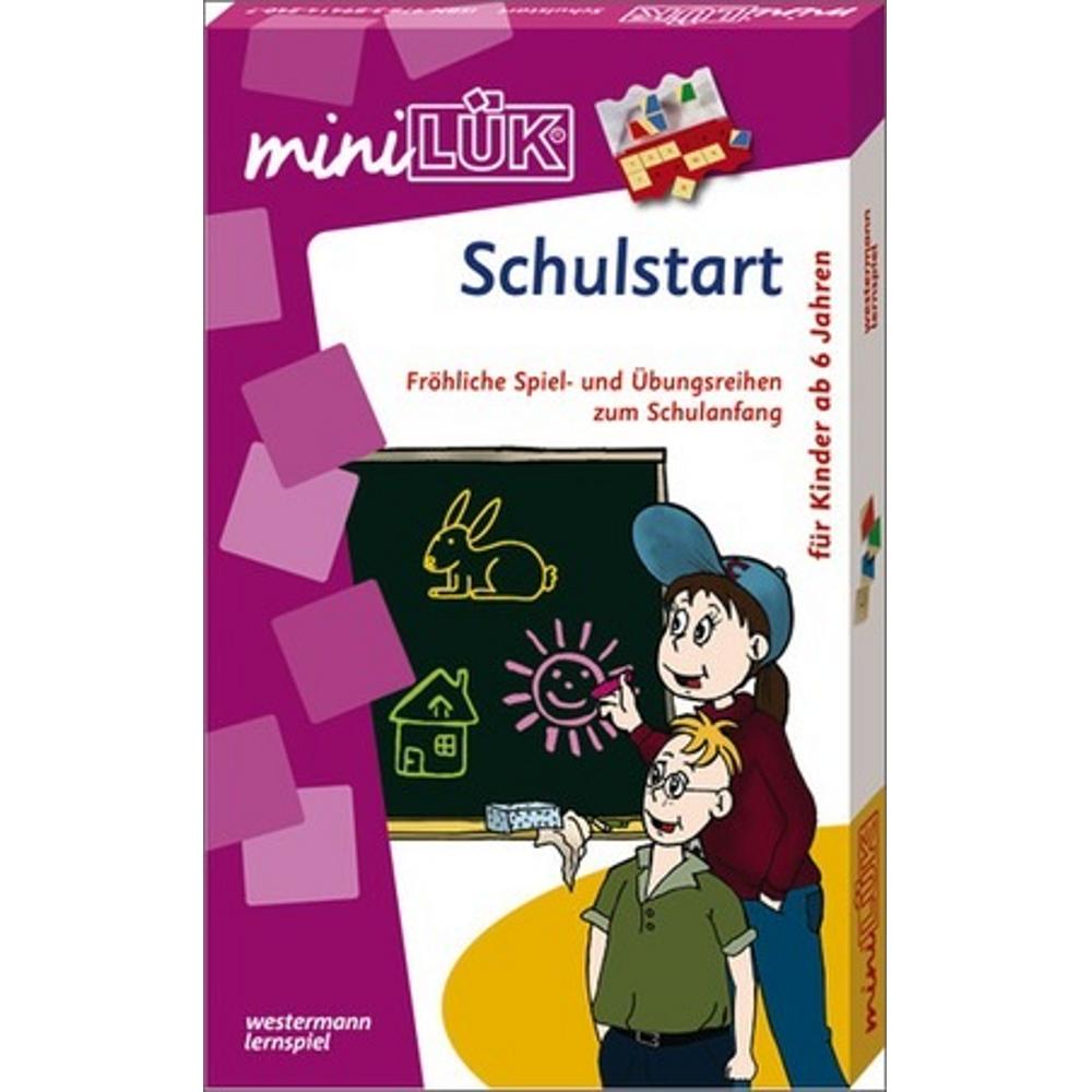 miniLÜK-Set  Schulstart Fröhliche Spiel- und Übungsreihen zum Schulanfang