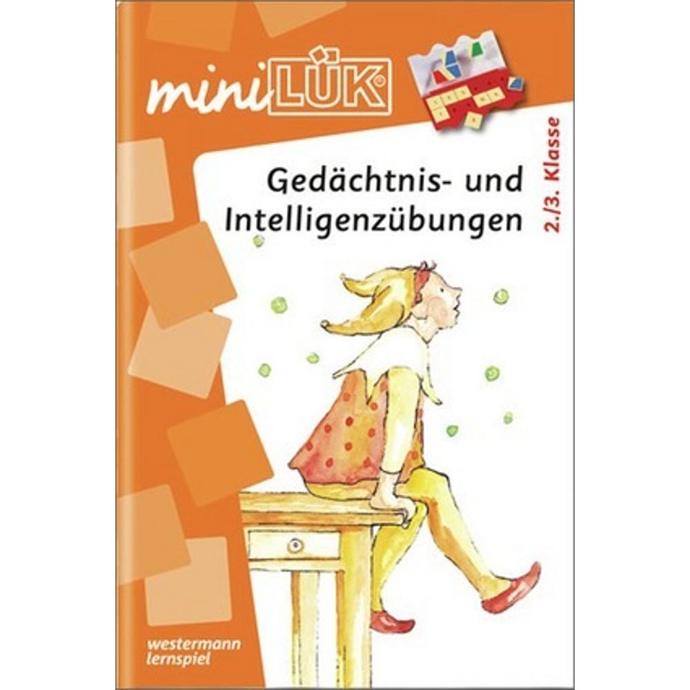 miniLÜK  Gedächtnis- und Intelligenzübungen 2. / 3.Klasse