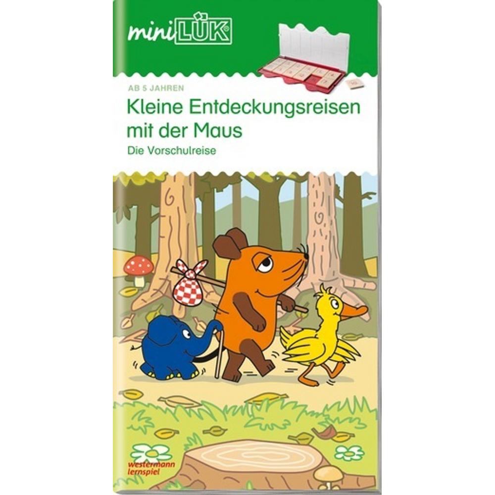 miniLÜK  Kleine Entdeckungsreise mit der Maus Die Vorschulreise für Kinder ab 5 Jahren.