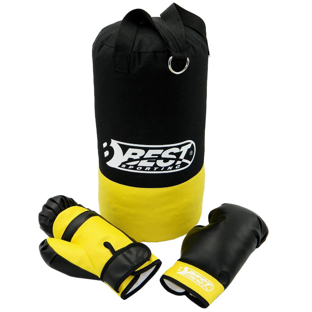 Boxset 4kg mit Boxsack und Handschuhen