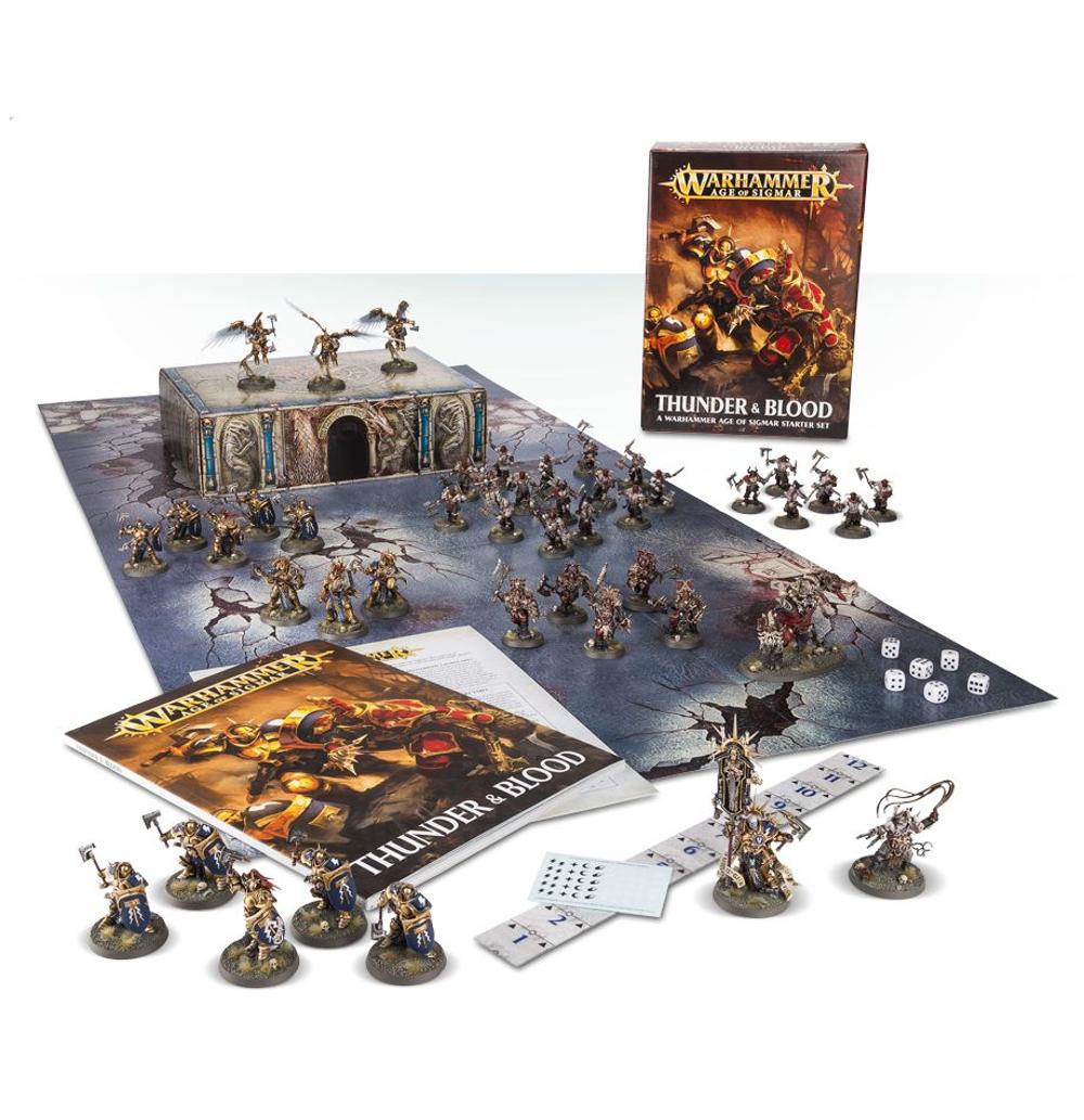 Thunder & Blood: Ein Starterset für Warhammer Age of Sigmar