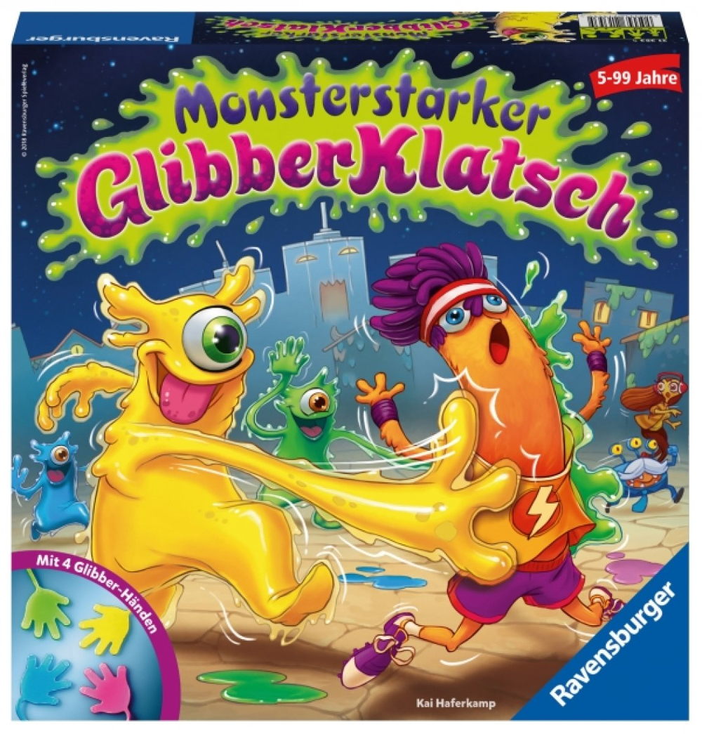Monsterstarker Glibber-Klatsch