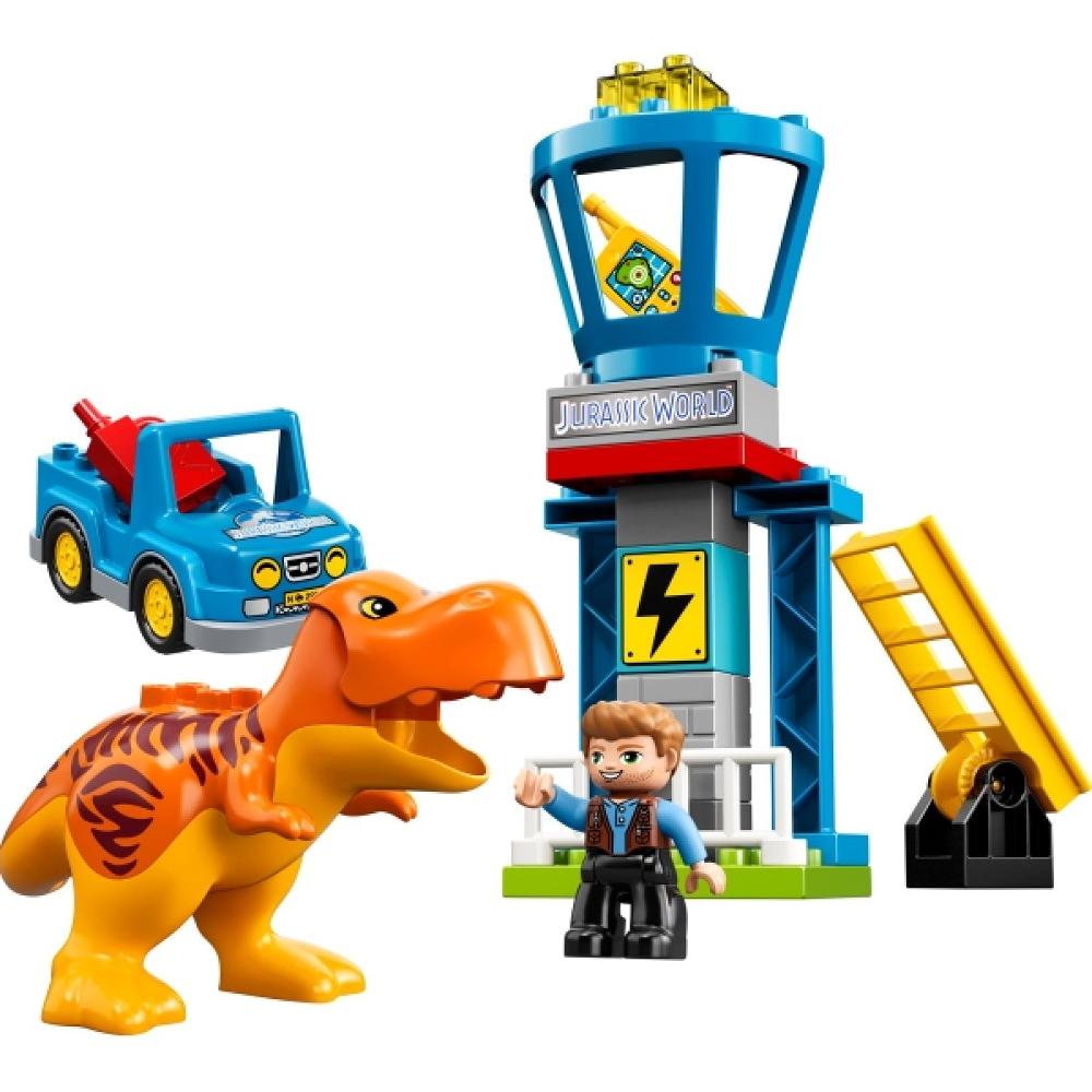 LEGO® DUPLO® 10880 Jurassic World™ T-Rex Aussichtsplattform, 22 Teile
