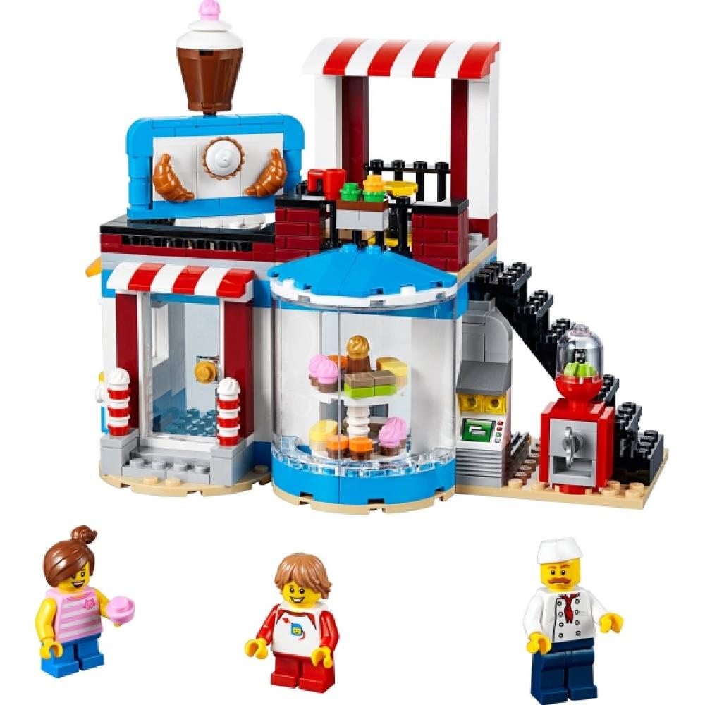 LEGO® Creator 31077 Modulares Zuckerhaus, 396 Teile