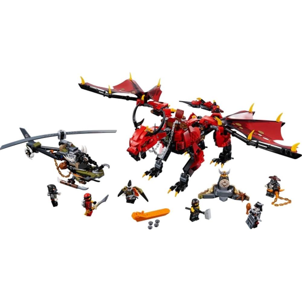 LEGO® NINJAGO® 70653 Mutter der Drachen, 882 Teile