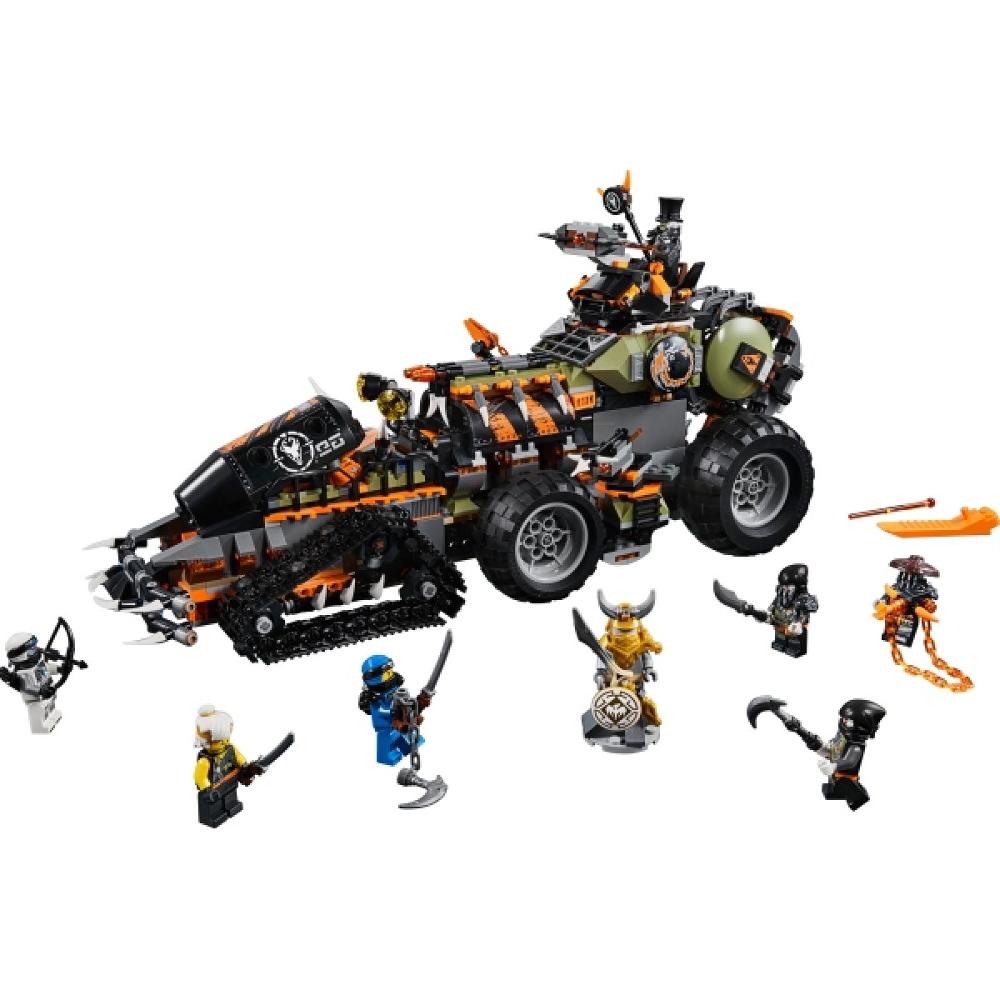 LEGO® NINJAGO® 70654 Drachen-Fänger, 1179 Teile