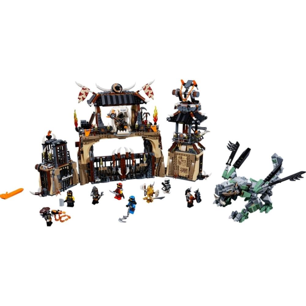 LEGO® NINJAGO® 70655 Drachengrube, 1660 Teile